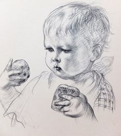 Vintage Black and White Picture, 1930 Picture of toddler, Tea-time, Nursery Decor, Home Decor, Housewares on Etsy, £15.00