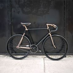 Beautiful custom bikes from the Detroit Bicycle Company.