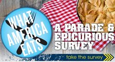 Epicurious and Parade Launch the What America Eats 2012 Survey
