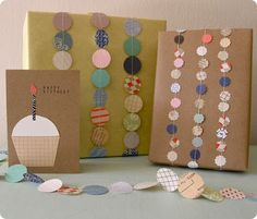 paper garland wrapping