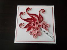 quill flower, quill card, quill kaart, quilling, quill creatiesbaukj