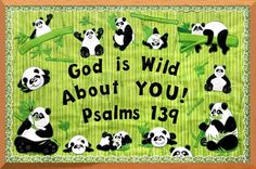 panda bulletin board ideas - Google Search