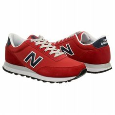 Be red HOT in these New Balance Men's ML501 for $59.99, plus get 4 SB for every dollar spent (more that 4%) on all your back to school fashion at Famous Footwear