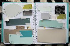 Love the palette she has chosen!