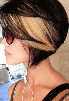 highlights for short hair - Google Search