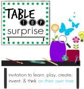 summer fun for older kids: tabletop surprises
