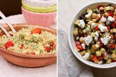 Grain and Bean Salad Recipes from Big Girls, Small Kitchen