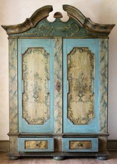 Antique Armoires - Repurpose antique armoires - Bob Vila great ideas!