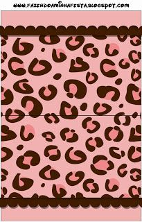 Kit para Festas - Oncinha Rosa (Fazendo a Nossa Festa)