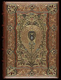 Thomas Moore, Lalla Rookh (1860)  in Cosway binding by Sangorski & Sutcliffe.