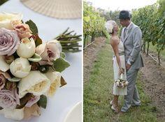 bouquet, the vineyard, grey suits, vintage weddings, color, wedding ideas, vintage wedding flowers, flower ideas, vintage flowers