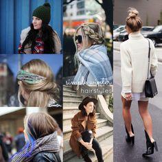 5 Simple Winter Hair