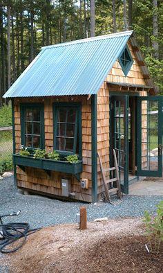 Bob Bowling Rustics - garden shed