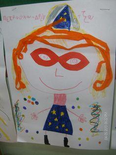 Νικη Σπαθαρα  Μας ήρθε κι ο Αρλεκίνος από τη Βενετία για να μας δείξει την πολύχρωμη στολή του... Και με αφορμή μια μάσκα ζωγραφίζουμε τη στολή των ονείρων μας!