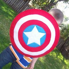 Captain America's Vibranium Shield is a must-have accessory this October. Homemade Halloween costumes don't have to look homemade.
