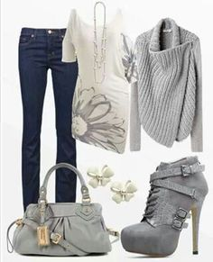 Totally in love with this fall style
