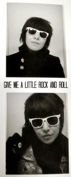 Give me a little rock and roll