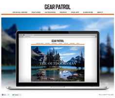 Introducing the Newly Redesigned Gear Patrol on 12/12/12