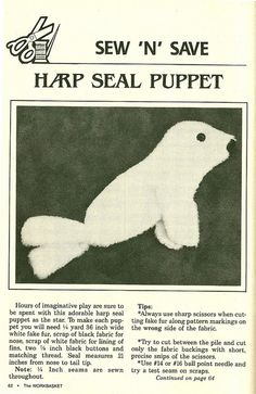 Seal Pup Sept 1986 - page 2 of 2