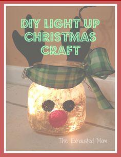 Easy DIY Light Up Craft