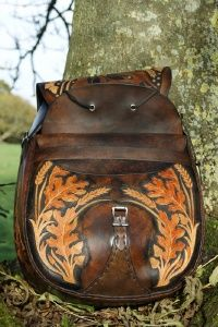 Large hare and oak rucksack