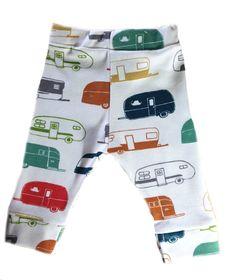 Organic Cotton Kit Leggings Camper print
