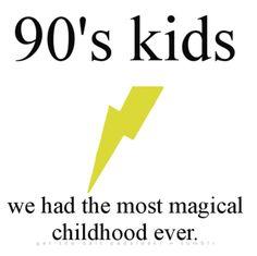 90's childhood