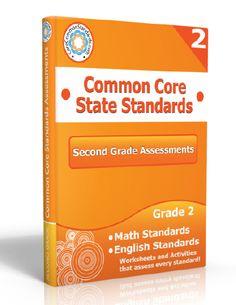 Description: Second Grade Assessment Workbook, 2nd Grade Assessment Workbook, Second Grade Common Core Assessment Workbook, 2nd Grade Common...