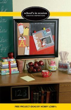 The  Open House will be here before you know it. Show parents how stylish and organized you are with these classy classroom projects!