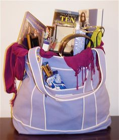 fun ideas for teenage girl... Easter Basket