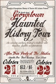 Georgetown Haunted history tour