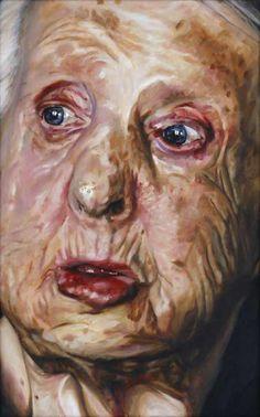 BP Portrait Award: Hannah OBrien by Robert OBrien #painting #portrait