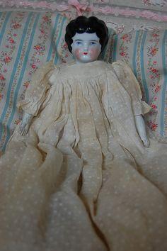 Old china doll