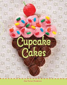 Cupcake ice cream cake - for the ice cream party