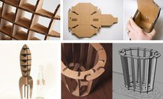 6 resources to get you started on a lasercut cardboard project « Ponoko – Blog