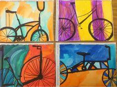 Mrs. Knight's Smartest Artists: Rad Bikes, '13