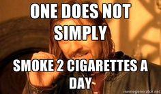 More smoking humor memes!