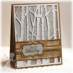 jen shult, taylor express, happi father, birch tree, father day, tree cut, happy fathers day, cut plate, card sketches