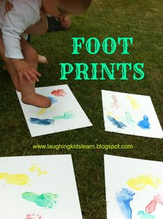 Great sensory activity for babies and can be given as gifts. Laughing Kids Learn
