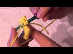 How to crochet - Back Loop only - YouTube