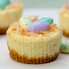 Mini Easter Cheesecakes with the kids | RWOP Cooking and Baking Blog - Real Women of Philadelphia