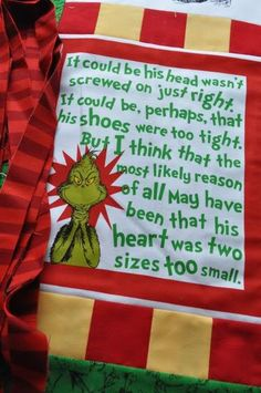 'The Grinch Stole Christmas'