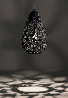 Hanging Macrame Pendant Lamp