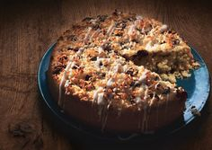 Coconut Cake with Chocolate Chunks and Coconut Drizzle