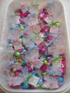 Tags So Much Easter Treat Bag Goodies