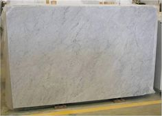 Honed White Carrera Marbile