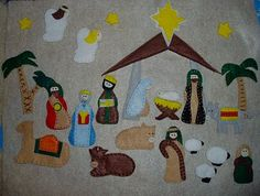 Felt Nativity Advent