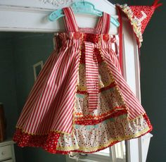 """What an adorable creation from """"Sewing clothes kids love"""".  Such a great book."""