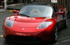 Tesla Roadster..electric car
