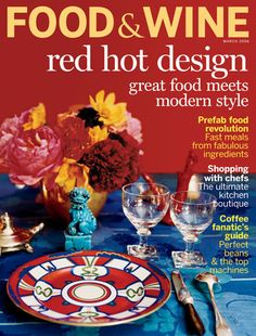 $70 subscription to Food & Wine Magazine paid for with your tax dollars!